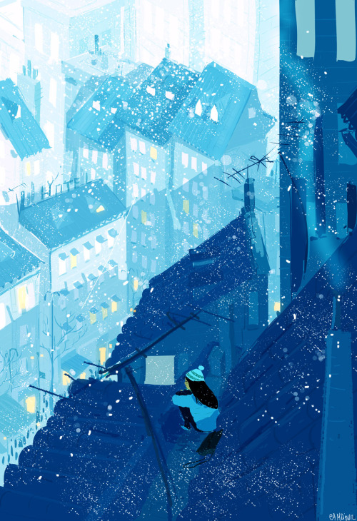 pascalcampion:  The Cold air on my cheeks