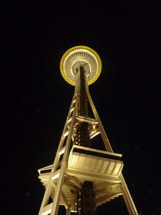 Space Needle at Night, Seattle