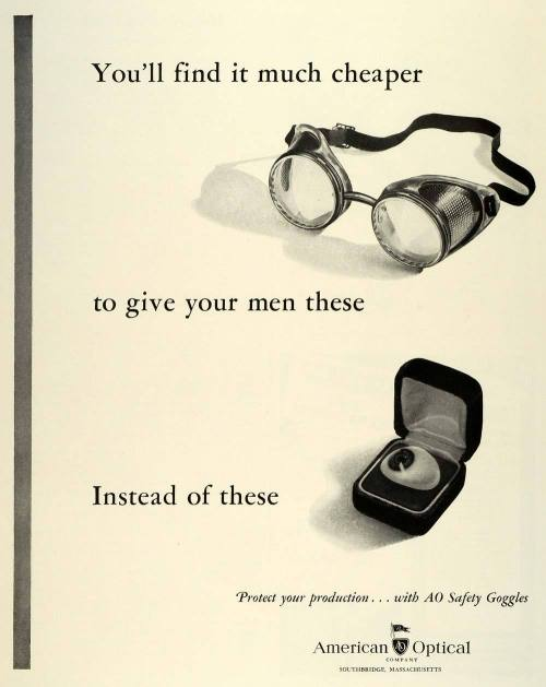 (via vintage_ads: Made you blink!) eyes are way expensive…
