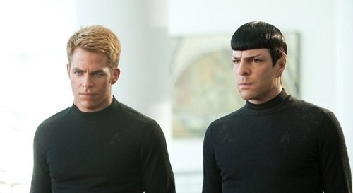 Who's excited to watch Star Trek into darkness?! I am :D