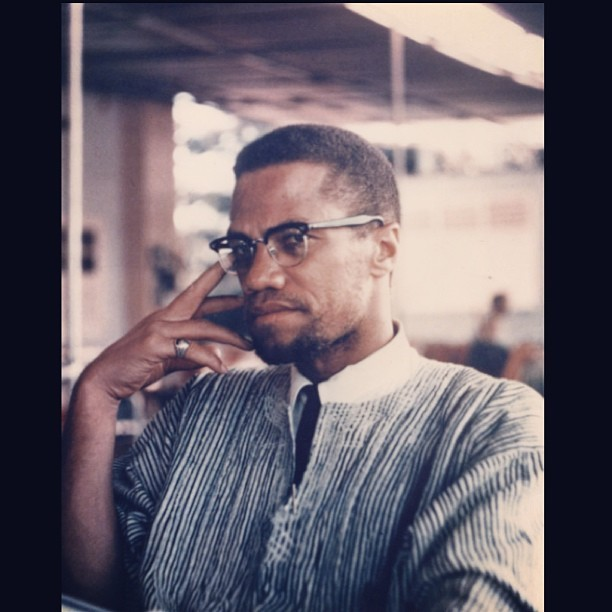 HAPPY BORNDAY MALCOLM! #CELERBRATE #MALCOLMX