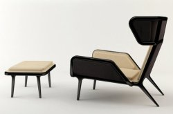 "adayinthelandofnobody:  ""Veronica Chair"" by Cate&Nelson ( via: http://designspiration.net )"