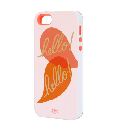 (via Rifle Paper Co. - Hello Hello iPhone 5 Case - INLAY) i'm so sad this is only for the 5 T-T