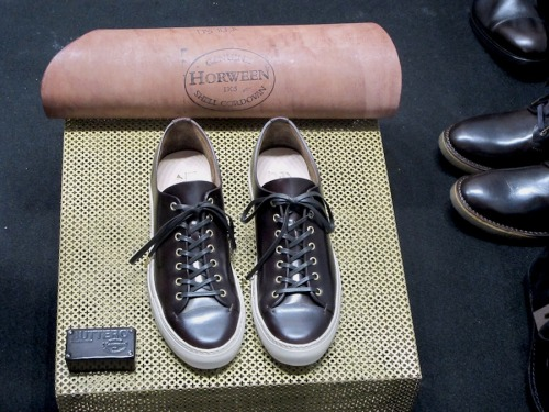 beyondfabric:  Buttero AW13 It seemed only fair that Pitti's first brand to be featured was one of my longtime favourites…The Sani family has been constantly delivering outstanding footwear with a unique handcrafted feel, earning the first place in my wardrobe with 11 pairs, so far…  For AW13 they bring us a few reinvented classics, but also step it up a notch with camouflage prints and fabric/leather combos. To top it off? How about their trademark Tanino sneaker in a premium Horween version? Drooling already…  THOSE DOUBLE MONKS