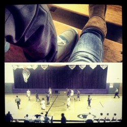Basketball Game with my ugly boy <3 , i love this man. We'd been through a lot to get this far, the times apart , the awkard moments, the arguements, the break up and make up , the bullshit in life , & yet no matter what fate always bring us back. Everytime i wanna give up on us, you stand strong just not for me, but for yourself and us . that's all that really matters. I remember the times when you went through all the hard times and have no one and i'll be the first person you call and run to. We had lots of moment before we even became what we created. I'm just happy i met you. You make me happy, very freakennnn HAPPPYY , and whenever i need you , you put me first. I can honestly say I Love this Man :)