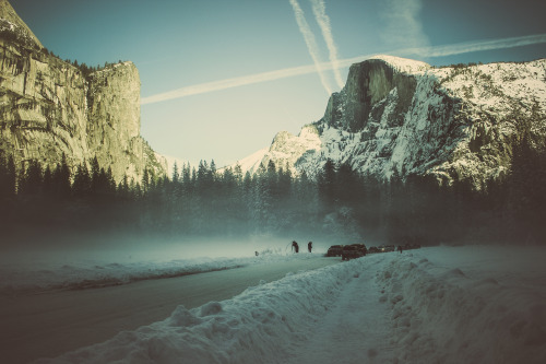 amalight:  Yosemite. Old photo, new style.