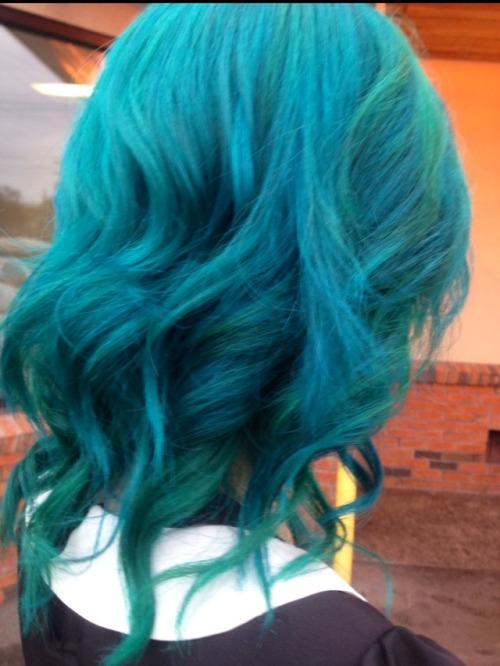 Turquoise Hair On Tumblr