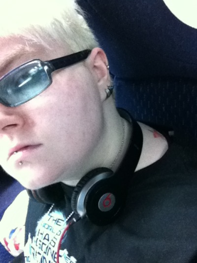 Sneaky train selfie… My Joestar blood is showing!
