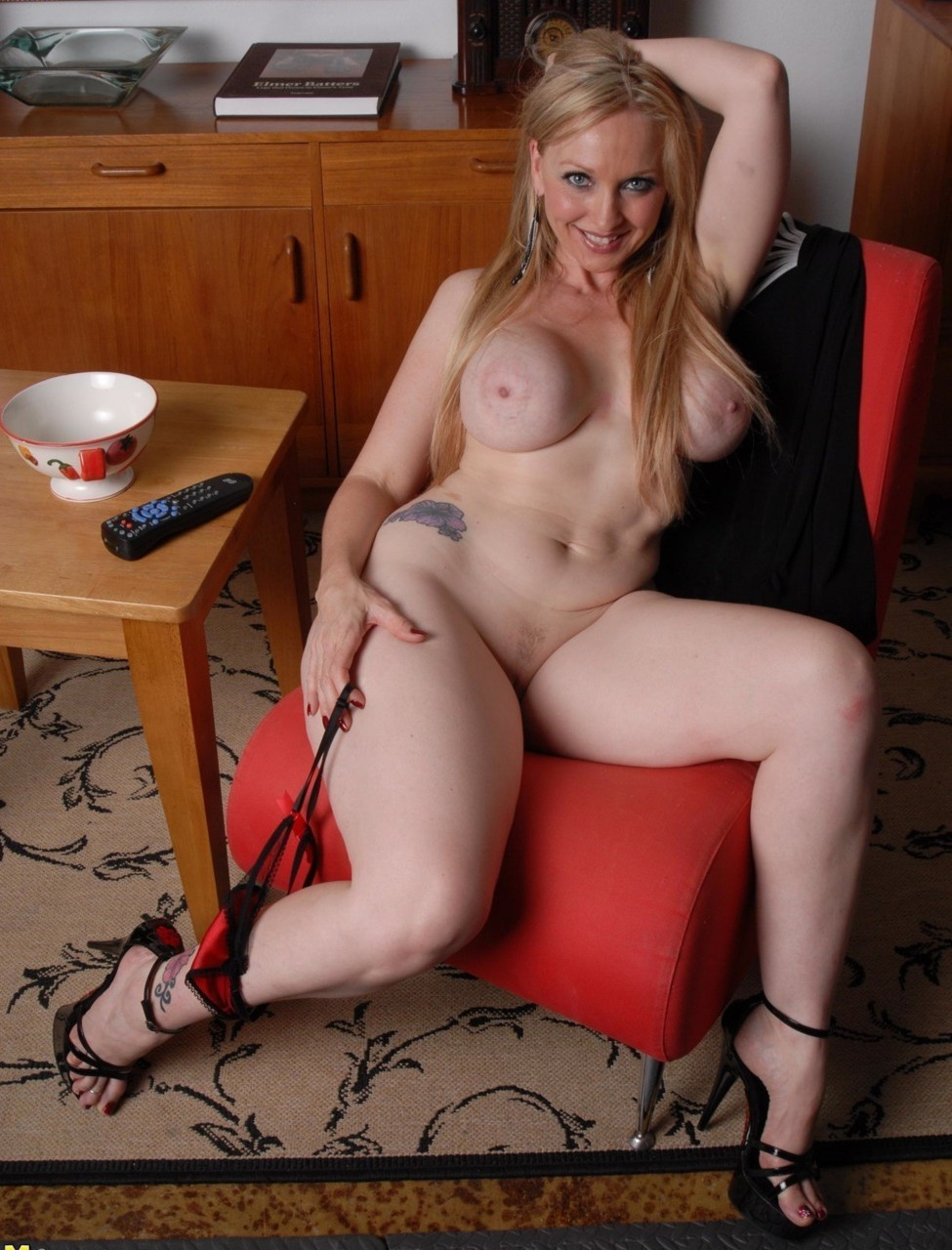 Hot mature blonde mom