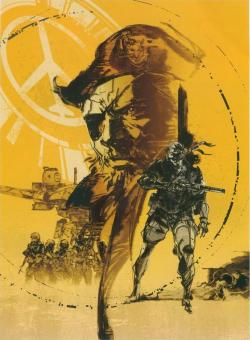 omercifulheaves:  Metal Gear Solid: Peace Walker Art by Yoji Shinkawa