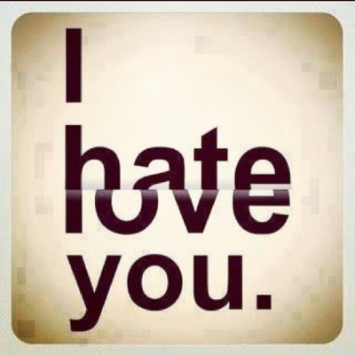 mgvarmx:  #Hate and #Love