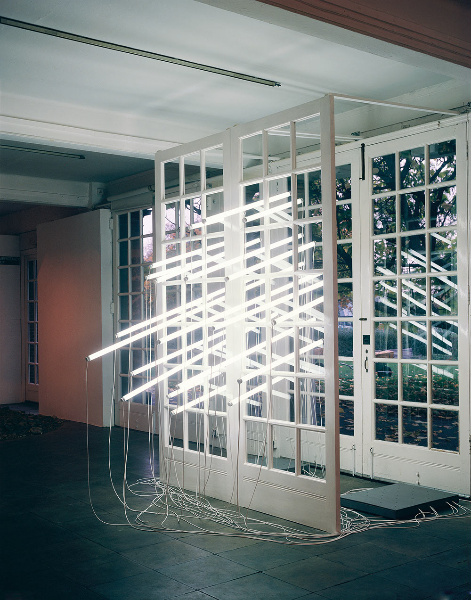 itscontemporary:  Bill Culbert - An Explanation of Light (1984)