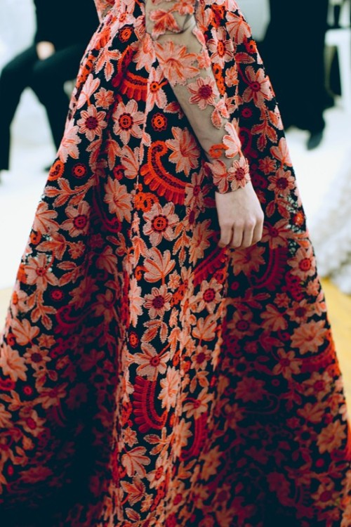 wildthicket:  Valentino Haute Couture S/S 2013 photographed by Lea Colombo for Dazed Digital