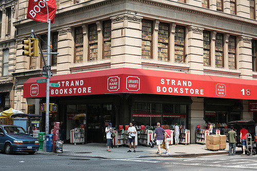 Strand Books, New York. In 1927, Ben Bass opened Strand Book Store on Fourth Avenue, home of New York's legendary Book Row. Named after the famous publishing street in London, the Strand was one of 48 bookstores on Book Row, which started in the 1890's and ran from Union Square to Astor Place.