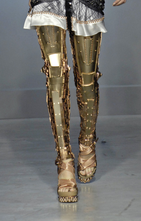 amplifiedattire:  Robot(?) leggings by Balenciaga. [Source]