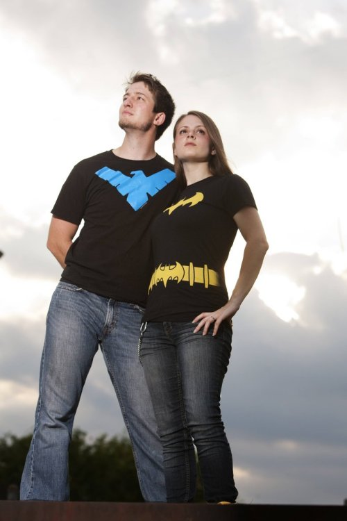 gailsimone:  talkaboutspaceships:  Couple has really awesome Batgirl/Nightwing wedding cause they're awesome.(source: http://imgur.com/a/XSADm)  If my editors ask where I am, please tell them I can't write any scripts because I am DEAD FROM THE CUTENESS AND ADORABLENESS.