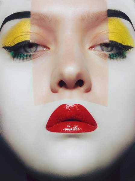 make-up-is-an-art:  Photo by Mark Gong MUA: Roshar