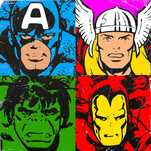 avengers popart on Flickr.