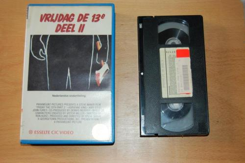 Dutch Friday the 13th part 2 VHS.