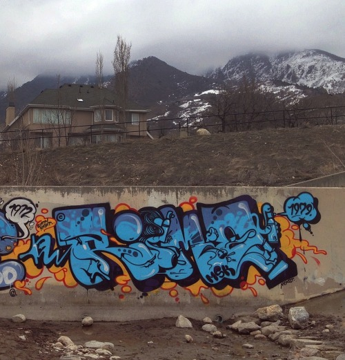 spraybeast:  Rime Ful wall on http://theseventhletter.com