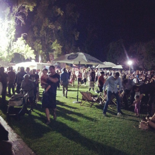 Get your fork on!! #forkontheroad #adelaide #nightservice (at Light Square)