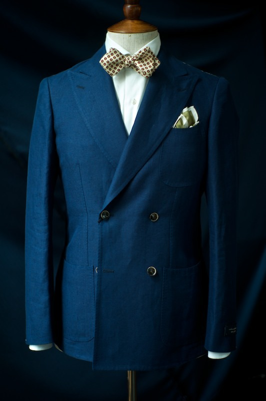 3 Patch Linen Double Breasted Coat $11,500HKD Ring Jacket at The Armoury