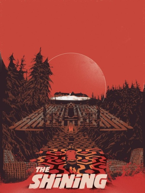 thepostermovement:  The Shining by Fernando Rezas