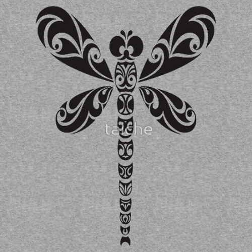 Tribal Dragonfly Tattoo Around the world there are various understandings of the meaning of the Dragonfly. In Japan, they are revered and respected, being symbolic of happiness, strength, courage and success. The Dragonfly is an important cultural symbol and was believed to be the spirit of the rice plant and a harbinger of rich harvests. According to the Zuni of North America, the Dragonfly is a messenger who carries our prayers to Spirit World. Follow my blog for all my Dragonfly Gifts and Novelties Click the links to see all of my Redbubble Dragonfly Paintings,Dragonfly Photography, Dragonfly Greeting Cards, Dragonfly Stickers, Dragonfly Tees, and Dragonfly T-Shirts at Arttowear