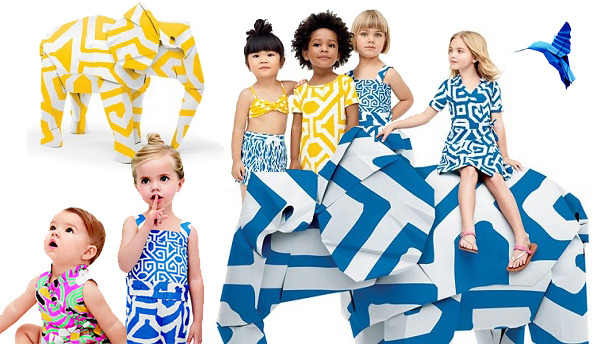 Diane von Furstenburg & GAPKIDS - The Explorers Collection April 2013
