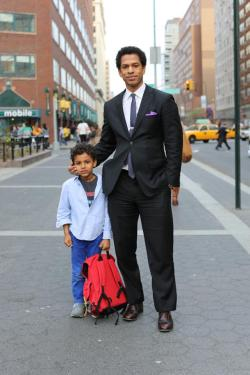 humansofnewyork:  These two were dominating the northern sidewalk of 14th Street at approximately 5:30 PM.