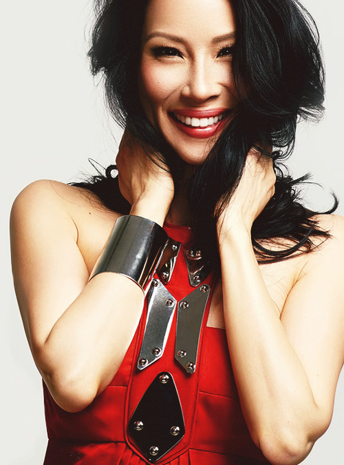 Lucy Liu for Emmy Magazine (April 2013)