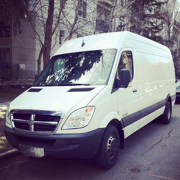 We finally got our new delivery van/future stealth camper! James Wyper and I are once again available for art consultations, deliveries, installations. Book through James! Currently based in Calgary.