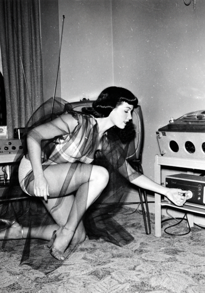 retrospex:  Bettie Page