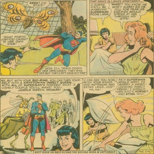 Well, Clark, you couldn't expect them to wait around forever…
