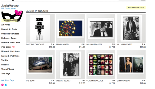 I now have a Society6 where you can shop my prints and designs!  I have a few up and am adding more, let me know if there's any you'd like to see in the shop! Check it out and reblog to help a sister out.