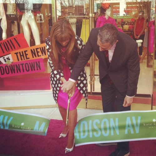 katespadeny:  and we're open! #789madison