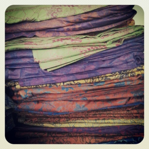 Colorful batik..