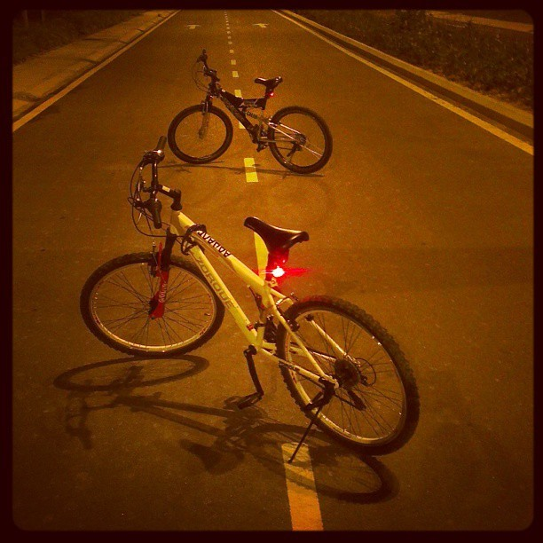 Night riders. #bike #bicycle #road #urban #adventure #luct #tagsforlike #limkokwing #cyberjaya #malaysia #putrajaya #instadaily #city #trip #traveller #travel #instatravel #instamood #instanight #igphoto #igtravel #instagood #alamanda #biker #cyclist #night #photography #photo #photooftheday
