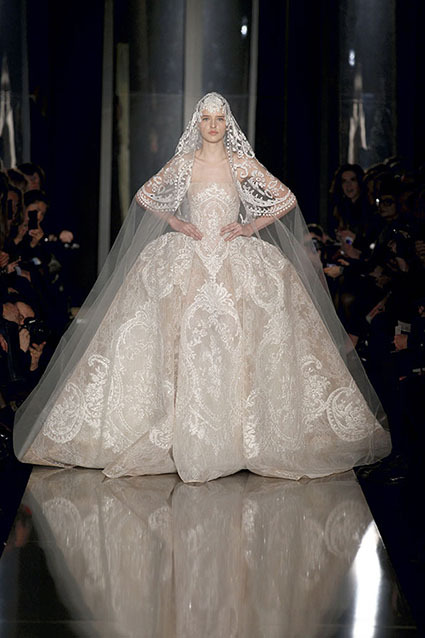 eliesaab:  The Finale Wedding Gown - Haute Couture Spring Summer 2013 Highlights