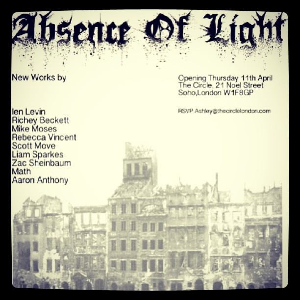 if you're in London this Thursday, don't miss the Absence of Light show! all black and white illustrations by artists from all over the world, which I was lucky enough to be invited to participate in! thanks @scottmove for making it happen!