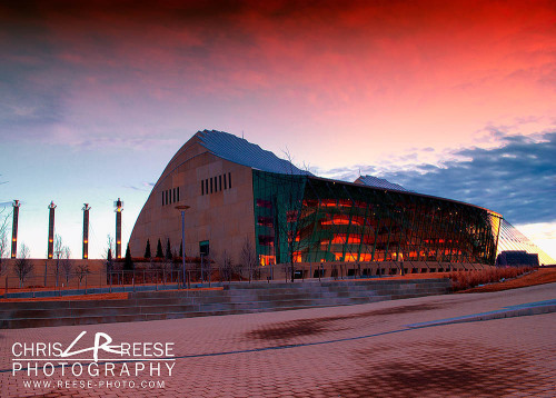 Another shot of Kauffman Center for the Performing Arts taken this weekend.
