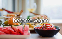 or maybe just a vegetarian. or eat healthier in general