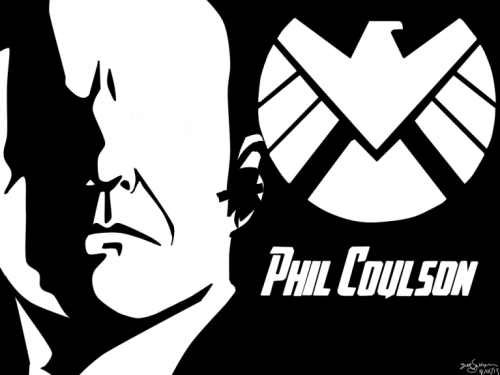 welcometogeektown:  I made some Phil Coulson artwork.