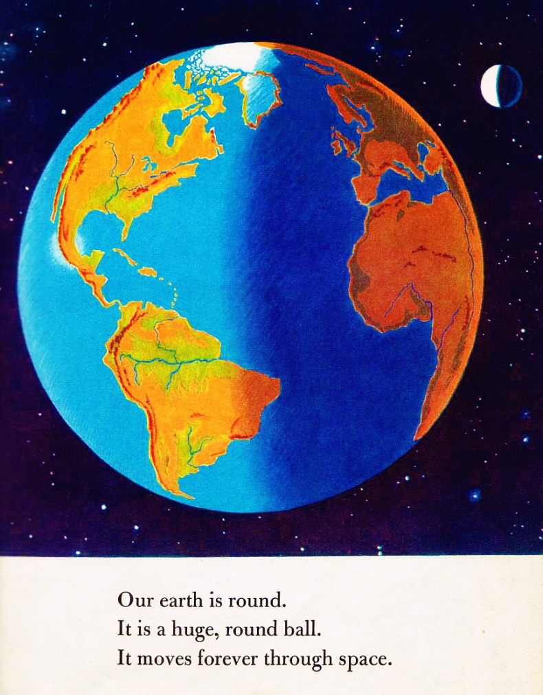 Our World, 1955 (a Little Golden Book) by: Jane Werner Watson Illustrated by William Sayles froggyboggler