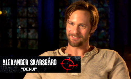 askarslibrary:  Watch Alex in this new behind-the-scenes featurette on the casting of The East courtesy of VanityFair.com. Alexander Skarsgård and The East Filmmakers on Casting the Summer's Most Inspiring Thriller In an exclusive video, Brit Marling, Alexander Skarsgård, Ellen Page, and Julia Ormond discuss the casting process behind The East, in U.S. theaters May 31, 2013. One of the most thrilling films to premiere at this year's Sundance Film Festival, The East is a morally complicated drama about an anarchist collective who holds major corporations accountable for their actions. Source:  VanityFair.com via VikingWenches twitter