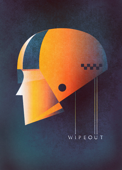 Wipepout R3tr0 by Georgios Xanthos / Tumblr