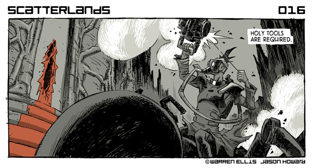 scatterlands by warren ellis & jason howard