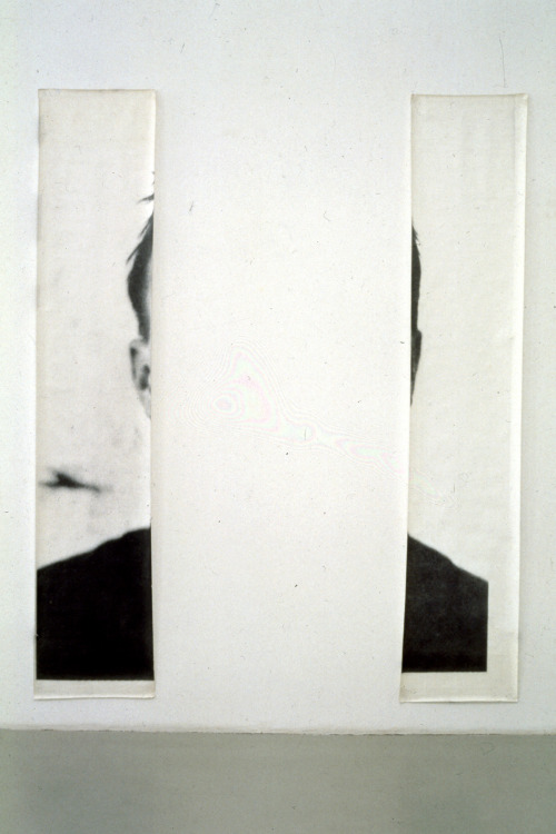 thedeity:  The Ears of Jasper Johns by Michelangelo Pistoletto