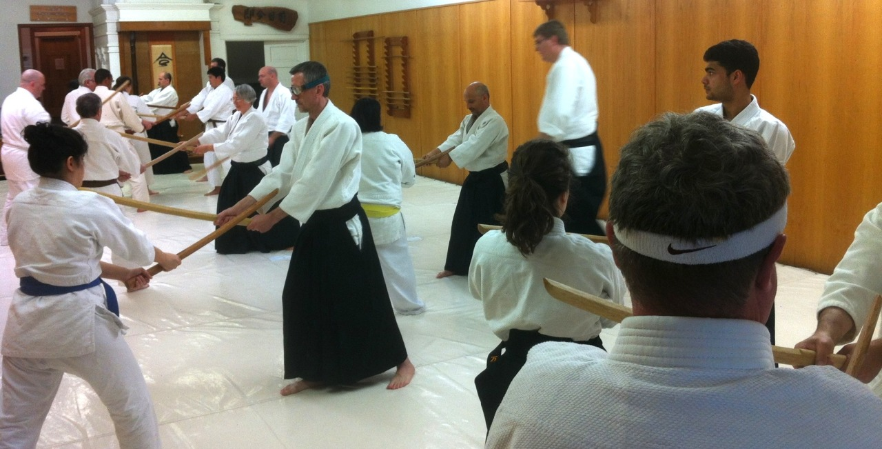 Aikido Weapons Workshop at Tenshinkan Dojo in Chicago, IL.