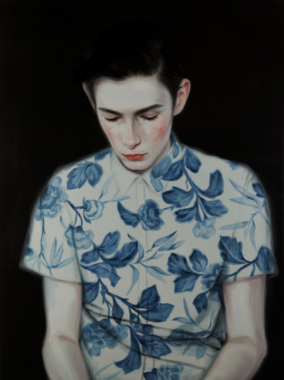 "rfmmsd:  Artist: Kris Knight ""Ivory"" Oil on Canvas 30"" x 40"" 2013"